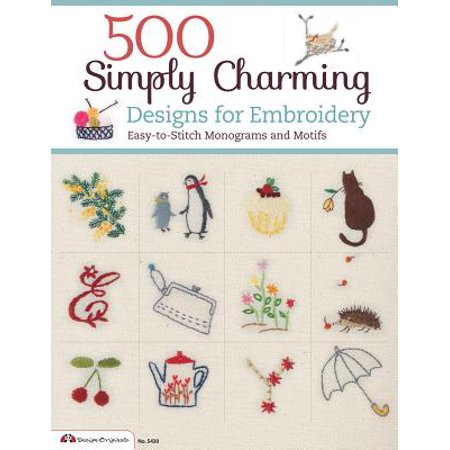 Monogram Wizard Embroidery - 500 Simply Charming Designs for Embroidery : Easy-To-Stitch Monograms and Motifs