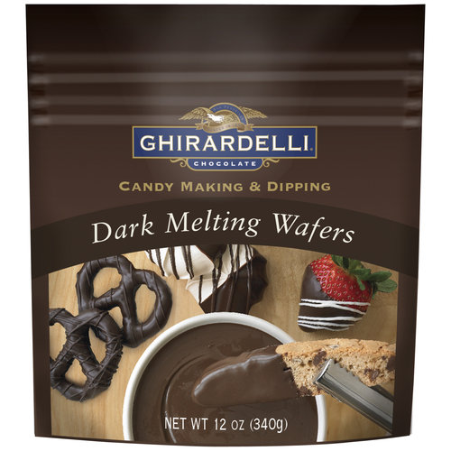 Ghirardelli Candy Making & Dipping Dark Melting Wafers, 12 oz