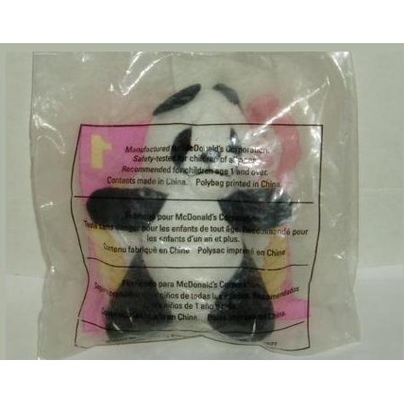 Animal Pals PANDA Happy Meal Toy #1 - 1997, Miniature plush stuffed animal Panda. By McDonalds Ship from US](Mcdonalds Happy Meal Halloween Toys)