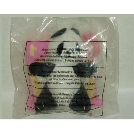 Animal Pals PANDA Happy Meal Toy #1 - 1997, Miniature plush stuffed animal Panda. By McDonalds Ship from US - Mcdonalds Halloween Toys