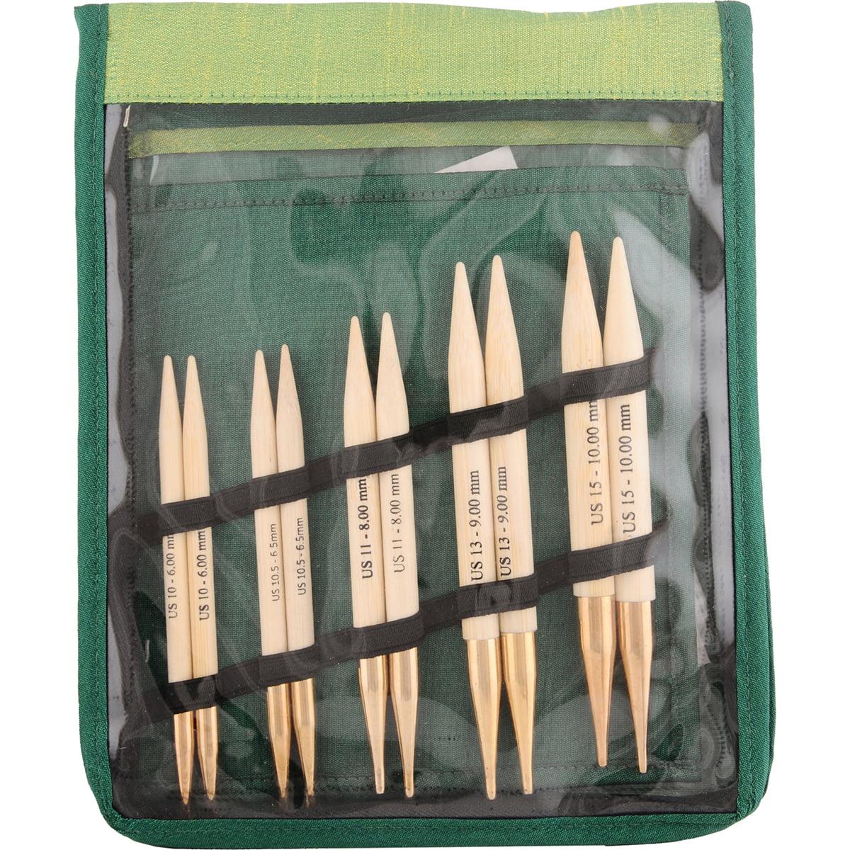 Bamboo Chunky Interchangeable Needles Set