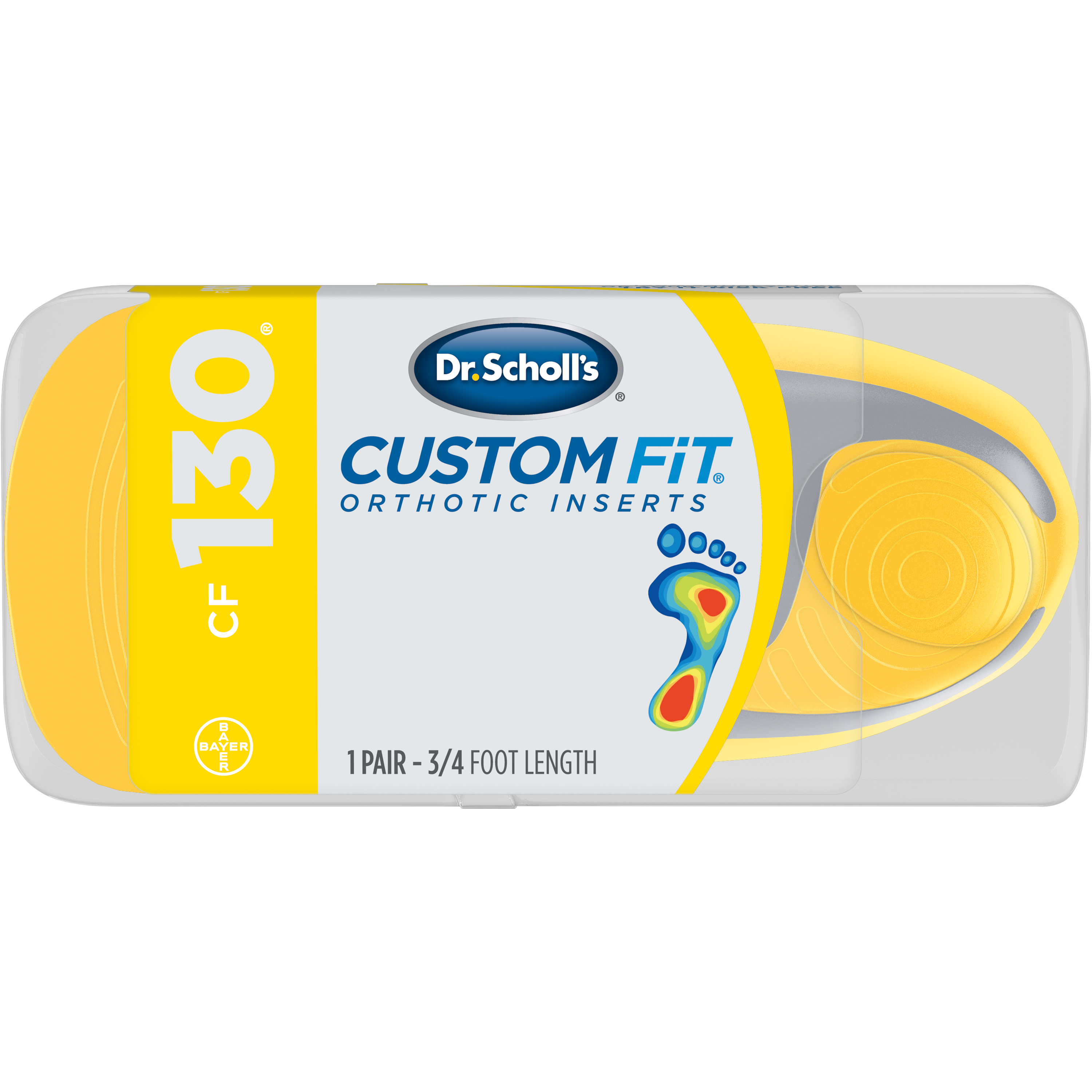 Dr. Scholl's® Custom Fit® Orthotic Inserts CF130, 1 Pair