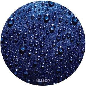 Allsop 29407 Slimline Raindrop Blue Round Mouse Pad