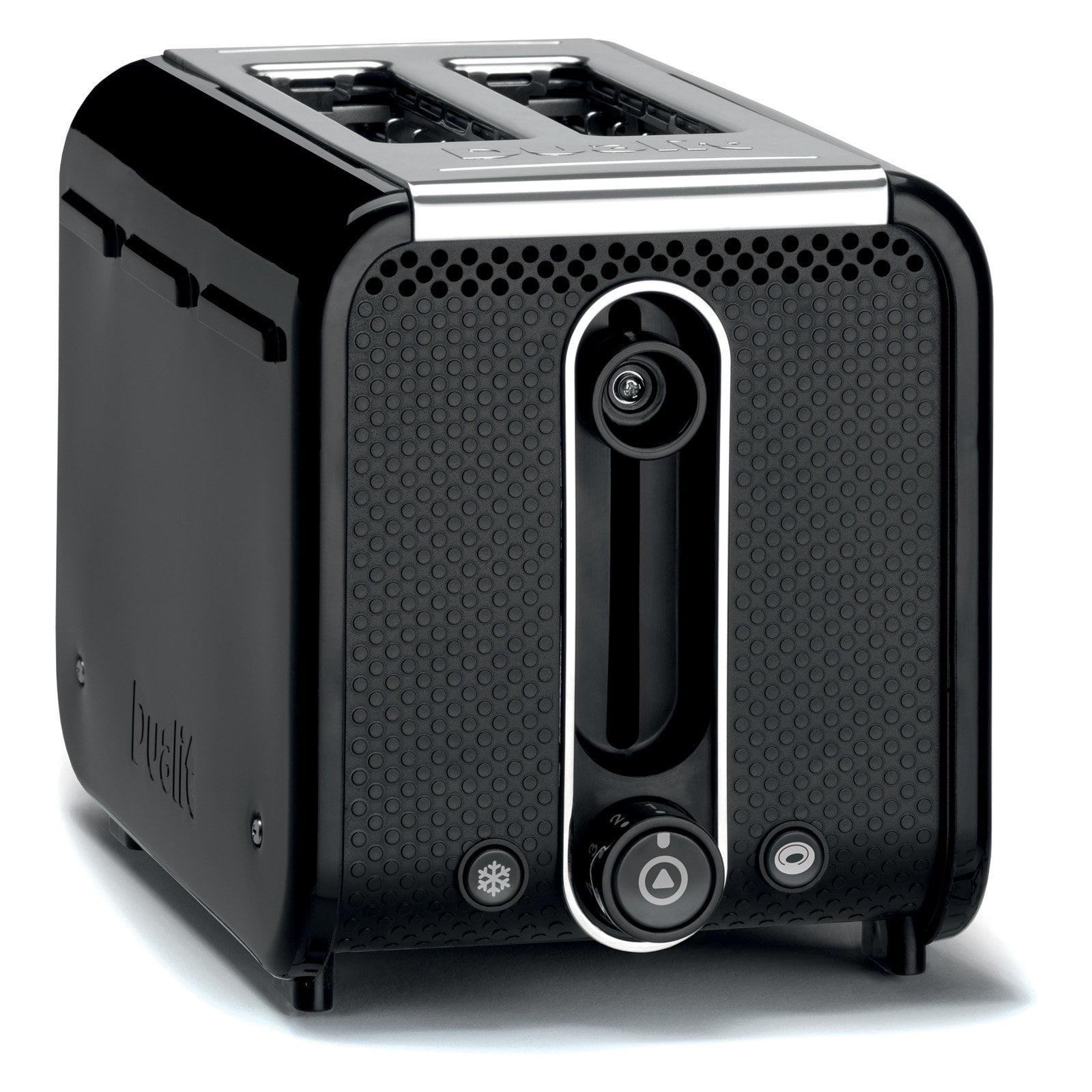 Dualit 26430 2 Slice Toaster - Black/Polished
