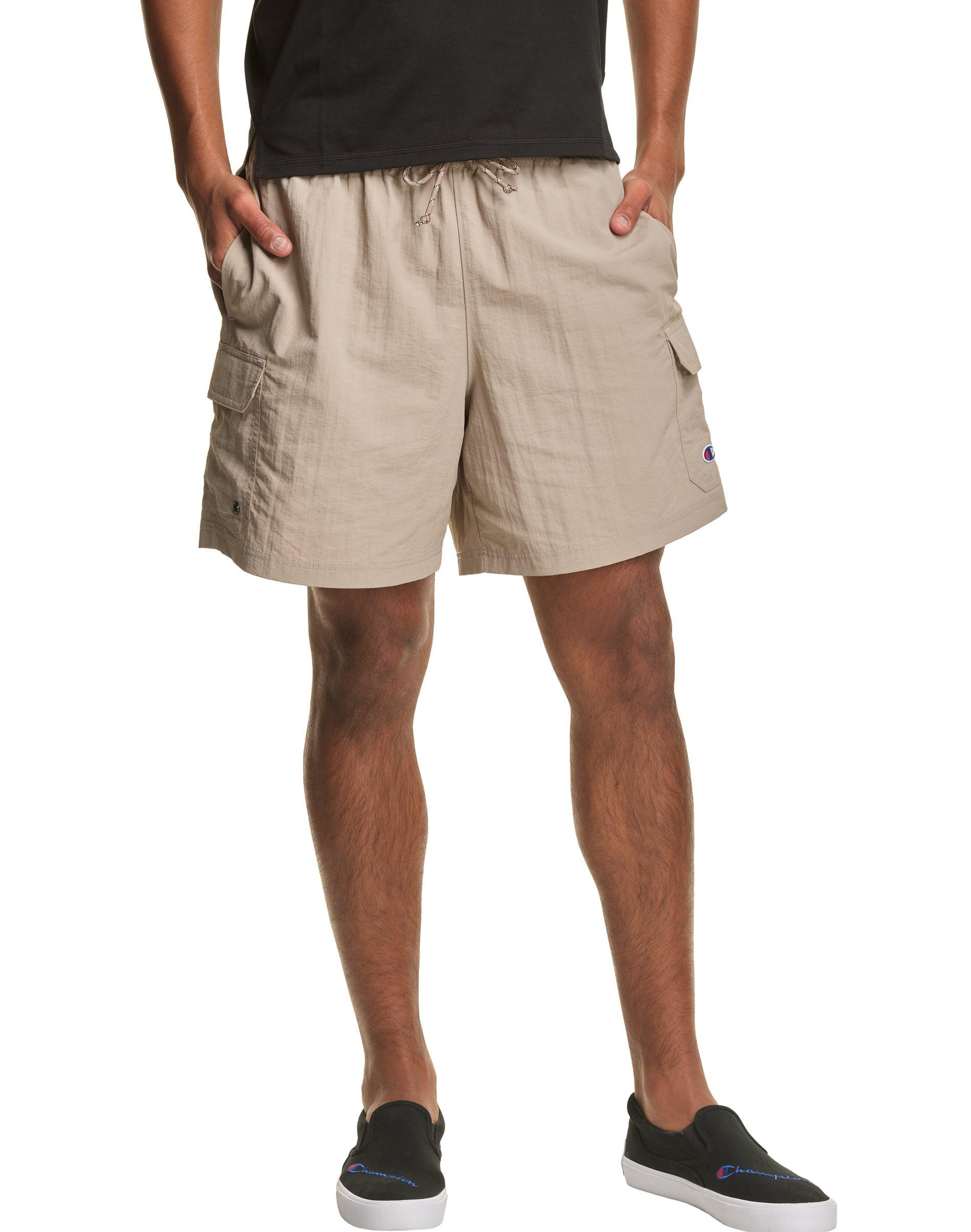 LEVI/'S Men/'s Snap Cargo Shorts Khaki Tan Size 42 Long Below Knee