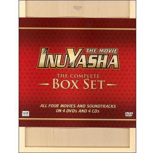 InuYasha: The Movie The Complete Box Set (Deluxe Edition) (With Bonus CDs) (Widescreen) by Viz Media