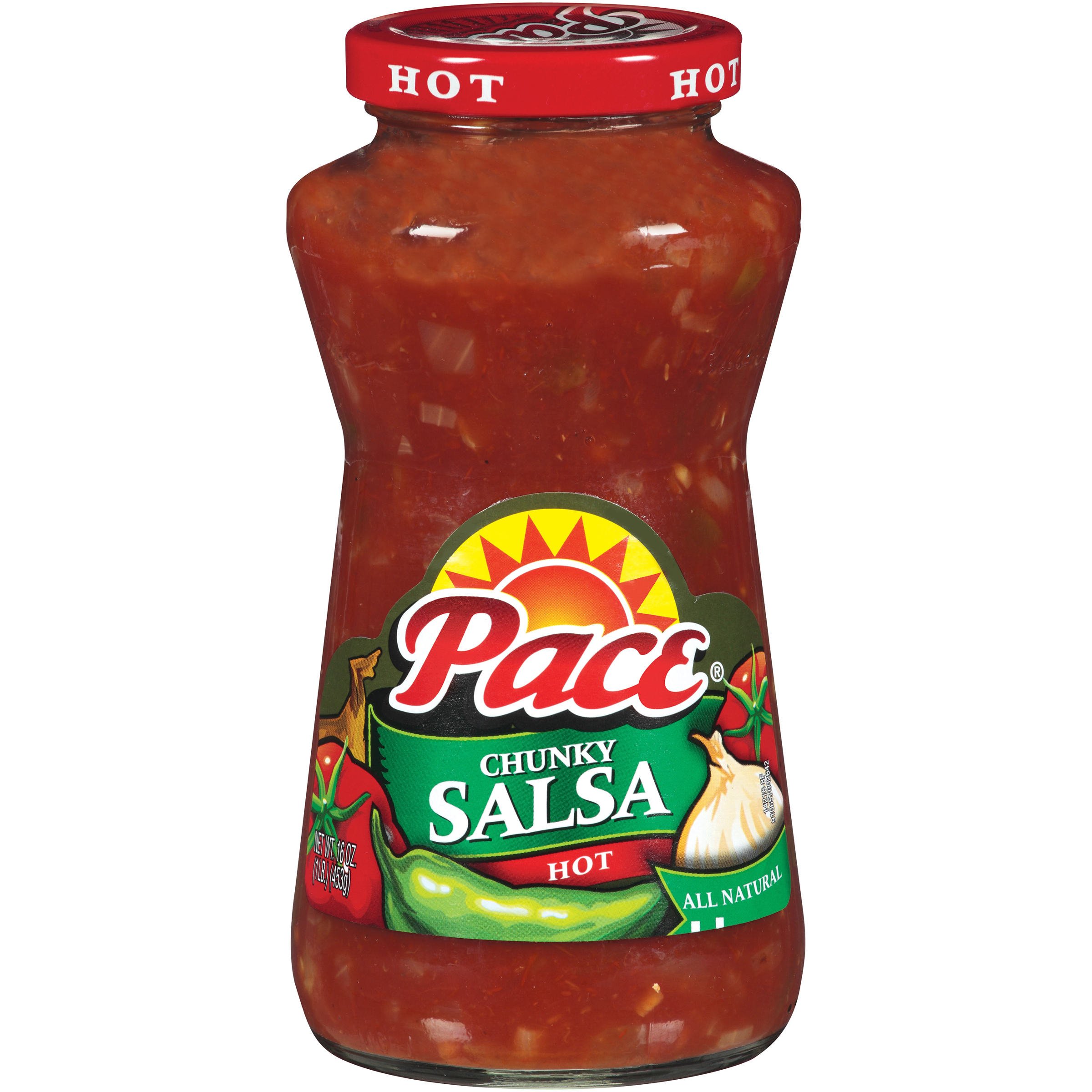 Pace Hot Chunky Salsa 16oz