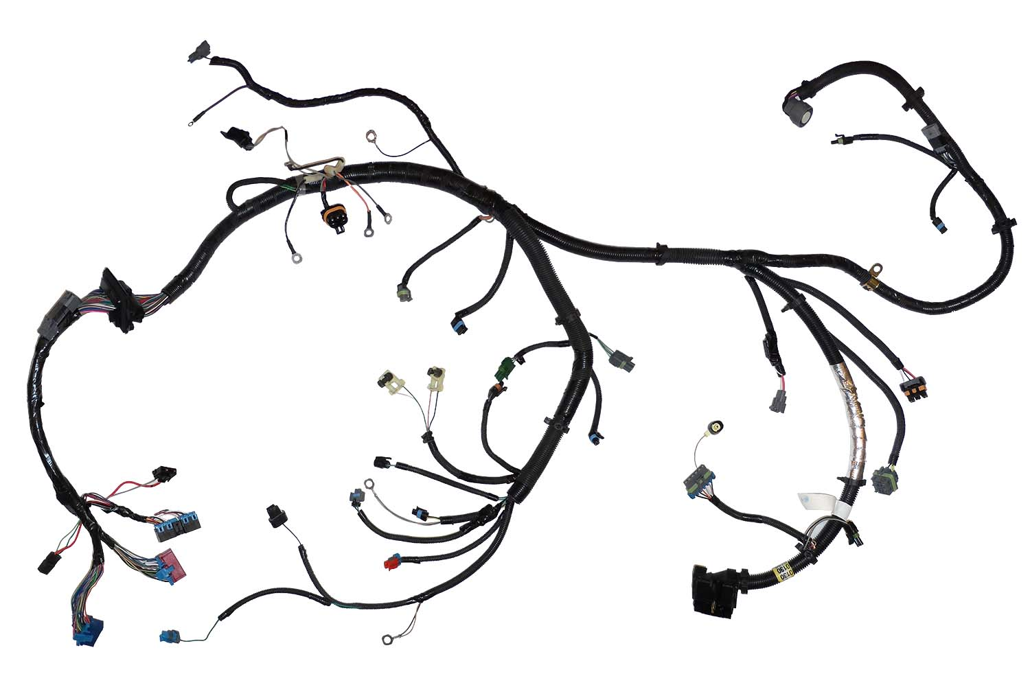 Tbi Wiring Harness Diagrams Schema 350 Engine 12150130 Oem 92 96 5 0l 7l 305 Gm 4l80e