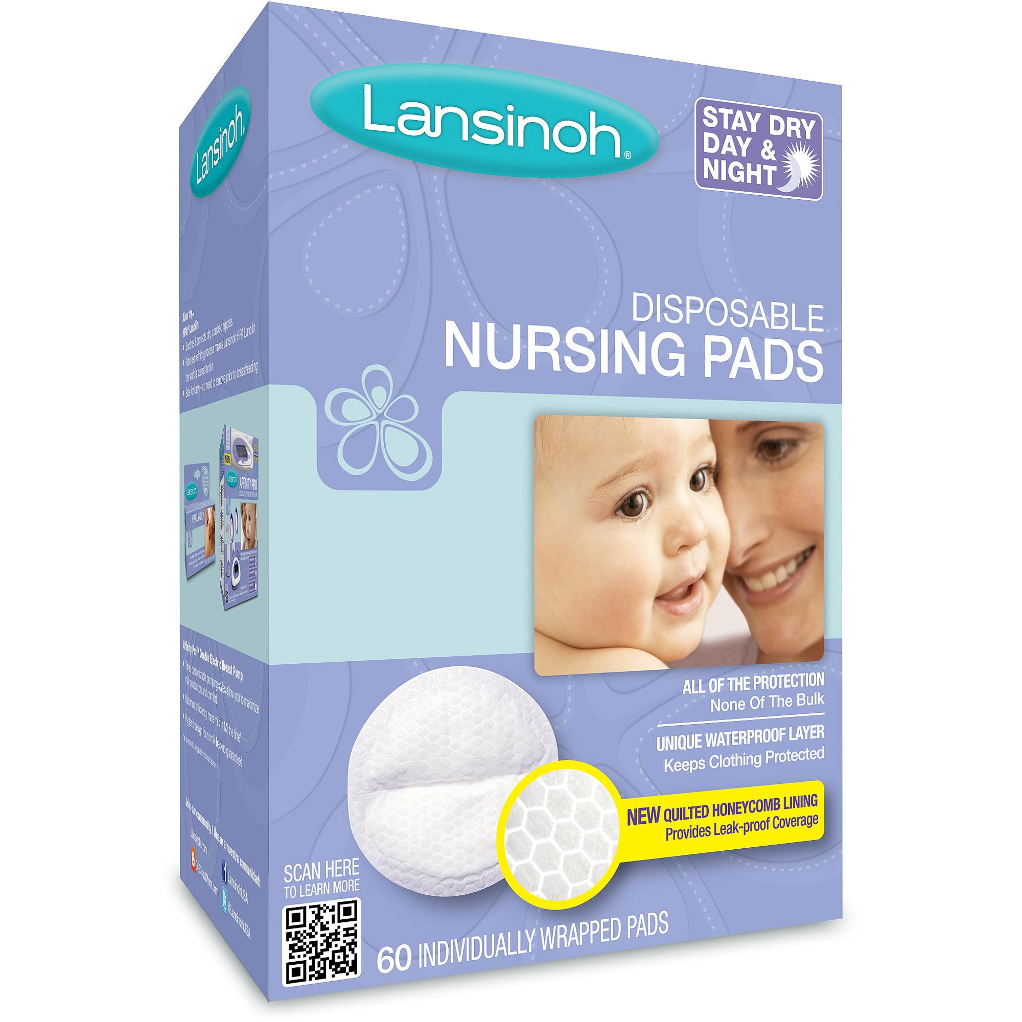 Lansinoh - Disposable Nursing Pads, 60-Count
