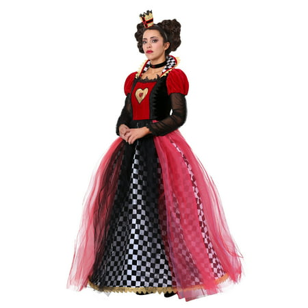 Red Queen Plus Size Costume (Plus Size Ravishing Queen of Hearts)