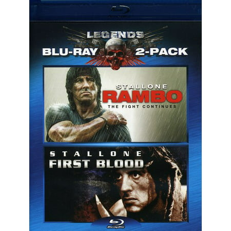 Rambo  First Blood   Rambo  The Fight Continues  Blu Ray