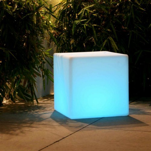 Smart and Green All Weather 14 in. Lighting Cube