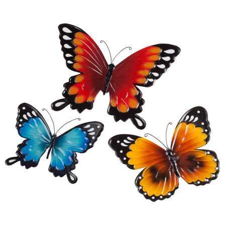 - Metal Butterflies Set of 3 by Maple Lane Creations