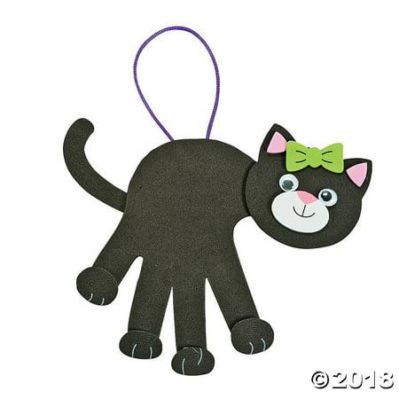 Black Cat Handprint Craft Kit(pack of 1)
