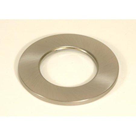 brushed nickel decorative trim ring for led puck lights. Black Bedroom Furniture Sets. Home Design Ideas