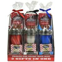 Ghirardelli Travel Mugs 3 Pack Gift Set