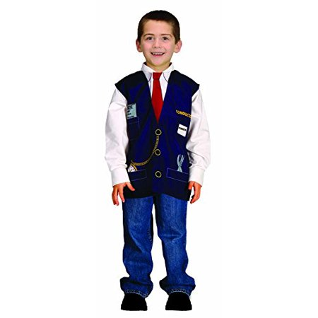 Aeromax My 1st Career Gear Train Conductor, Easy to put on shirt fits most ages 3 to 6