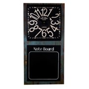 DecorFreak Chalk Board And Clock Duo