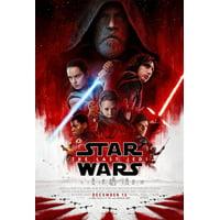 Buyartforless Star Wars The Last Jedi Episode 8 36x24 Movie Art Print Poster Group Cast with Credits
