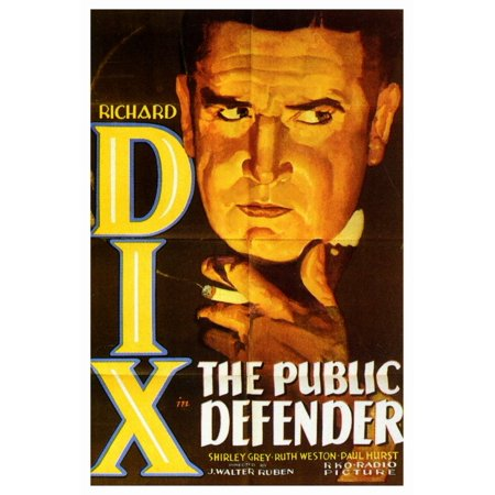 The Public Defender - movie POSTER (Style A) (27
