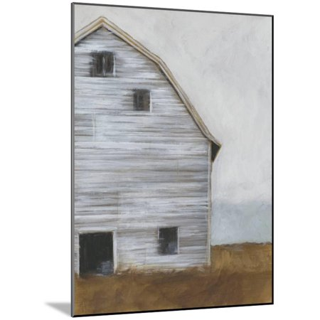 Abandoned Barn I Farmhouse Architecture Art Wood Mounted Print Wall Art By Ethan Harper