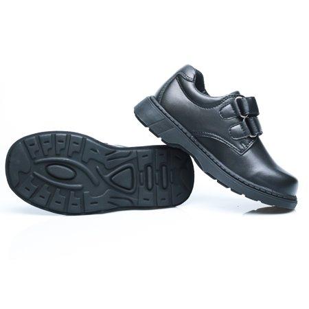 Happystep Toddler Little Boy School Uniform Dress Black Shoes, 1 Pair - image 3 of 9