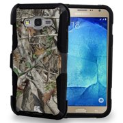 AUTUMN WOODS CAMO TREE CASE BELT CLIP HOLSTER FOR SAMSUNG GALAXY J7 J700 (2015)