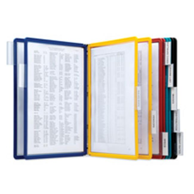 Wall Reference System- w- 10 Letter Sleeves- Assorted - image 1 de 1