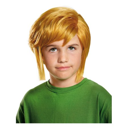 Childs Boys Link The Legend Of Zelda Blonde Elf Wig Costume Accessory (Disguise Wig)