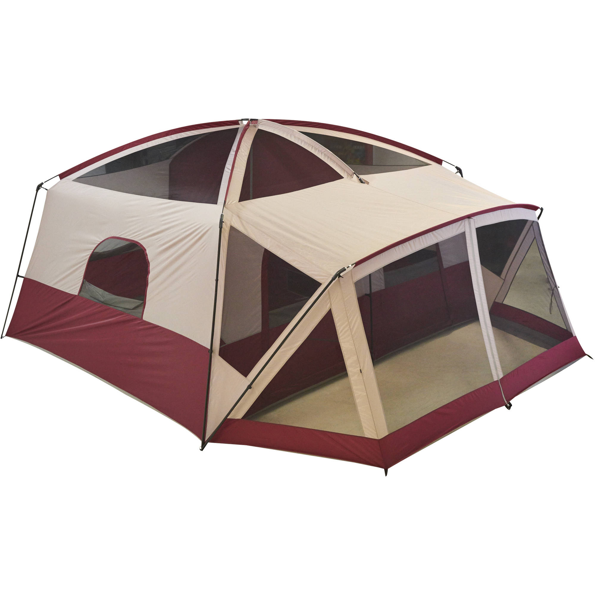 Ozark Trail 12-Person Cabin Tent with Screen Porch Image 2 of 5  sc 1 st  Walmart : ozark trail 12 person cabin tent - memphite.com