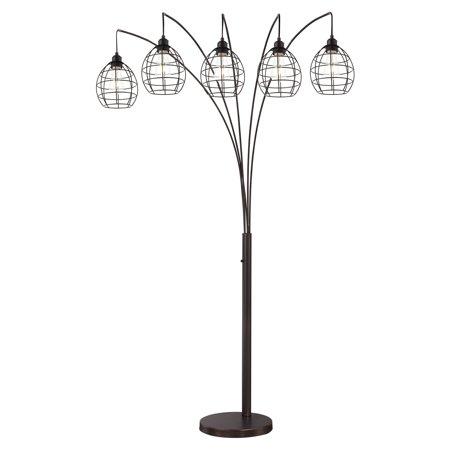 Lite Source Kaden 5 Light Floor Lamp