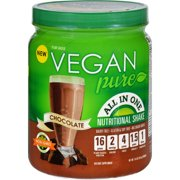 Vegan Pure Nutritional Shake - Chocolate - 14.8 oz