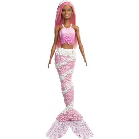 Barbie Dreamtopia Mermaid Doll with Long Pink Hair