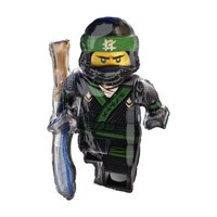 """Ninjago Lego Ninja Super Shape Foil Balloon 35"""""""