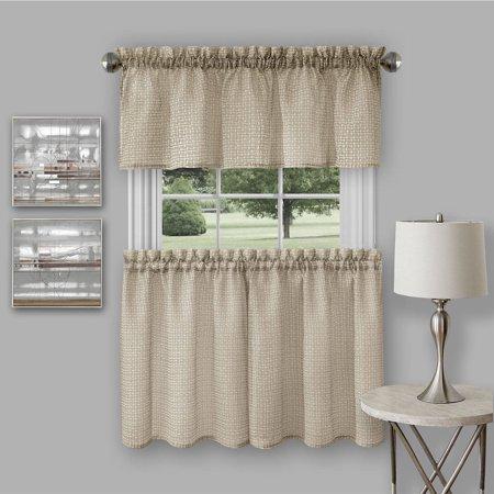 Richmond Window Kitchen Curtain Tier Pair And Valance Set