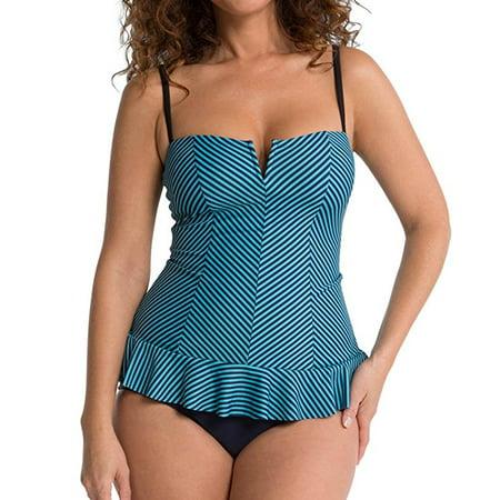 a6b1e58b4f806 SPANX - SPANX Swim-X Ruffle Swim Dress One Piece Slimming Swimsuit 2691 -  Walmart.com