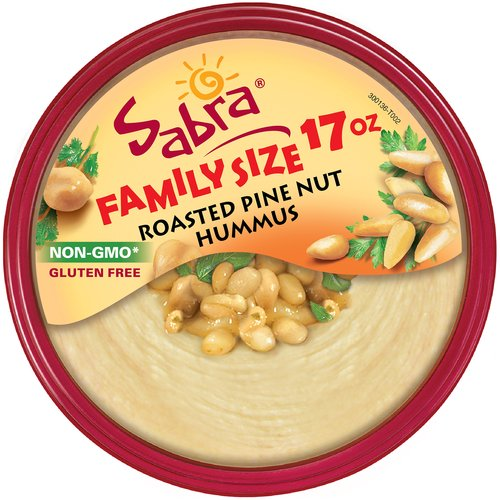 Sabra Roasted Pine Nut Hummus, 17 oz
