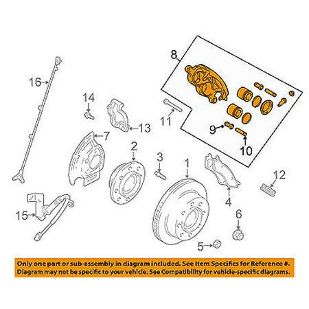 Diagram Of Brake Calipers - Wiring Diagrams