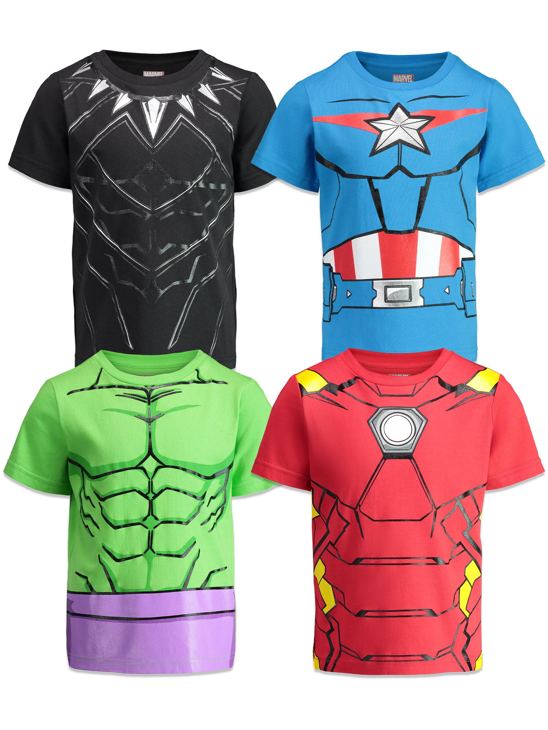 Marvel Boys Iron Man and Hulk Christmas Day Sweatshirt