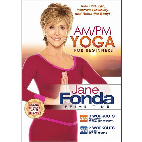 JANE FONDA-AM/PM YOGA FOR BEGINNERS (DVD) (WS/ENG/2.0 DOL DIG)