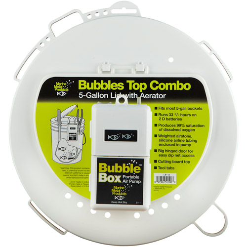 Bubble Top Combo Universal 5 Gallon Lid with Aerator