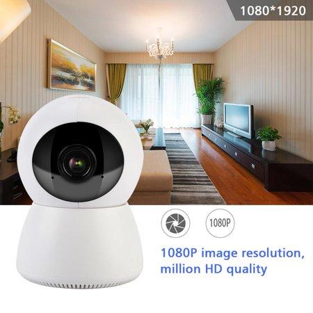 Alarm Security Camera,Ymiko Wireless WIFI HD 1080P Home Alarm Security  Duplex Voice Intercom Camera Baby Indoor Monitor