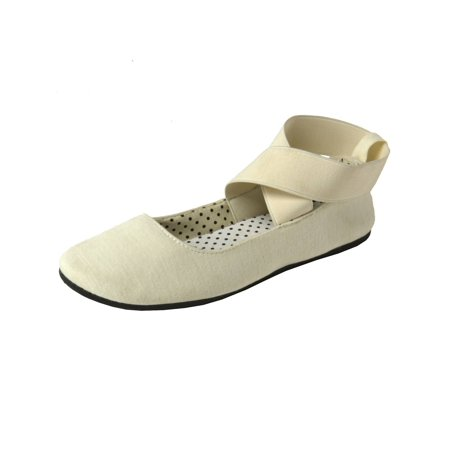 Alpine Swiss Peony Womens Ballet Flats Elastic Ankle Strap Shoes Slip On Loafers Olive Suede Kids Shoes