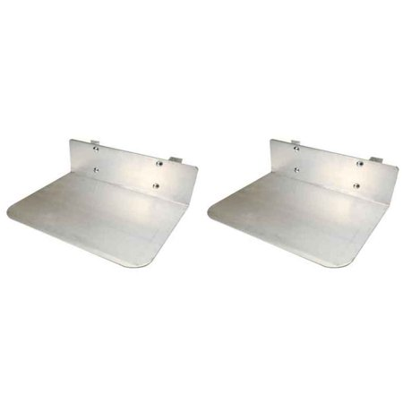 Solid Extension Nose Plate for Hand Truck - 2 Pack