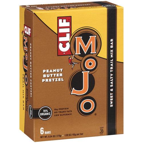 Clif Mojo Peanut Butter Pretzels Snack Bars, 6ct