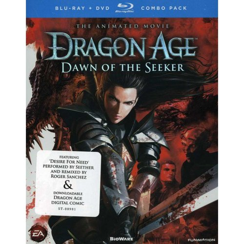 Dragon Age: Dawn Of The Seeker - The Animated Movie (Blu-ray + DVD) (Widescreen)