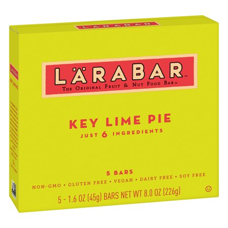 Larabar Apple Pie - (4 pack) Larabar Gluten Free Key Lime Pie Bars 5 ct Box, 8 oz