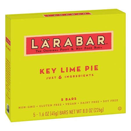 - (4 pack) Larabar Gluten Free Key Lime Pie Bars 5 ct Box, 8 oz