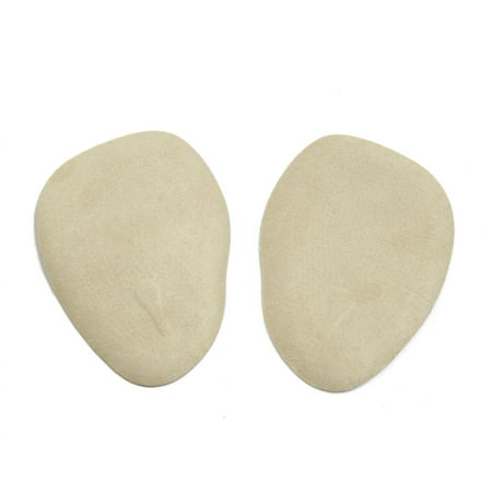 Forefoot Pad (2pcs Skin Color Silicone Gel Women Forefoot Insole Pads High Heel Shoes Cushions )