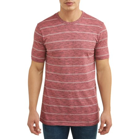 Lee Men's Short Sleeve Striped Crew Neck T-Shirt